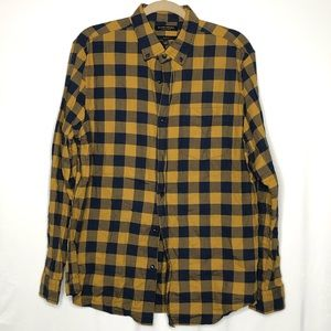 Men's Banana Republic Slim Fit Plaid Flannel Shirt